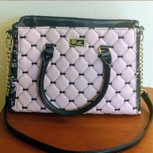 Betsey Johnson floral print purse